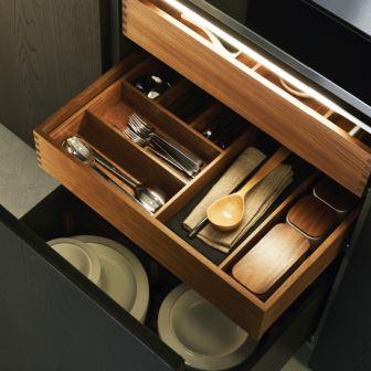 Фото подсветки шкафов