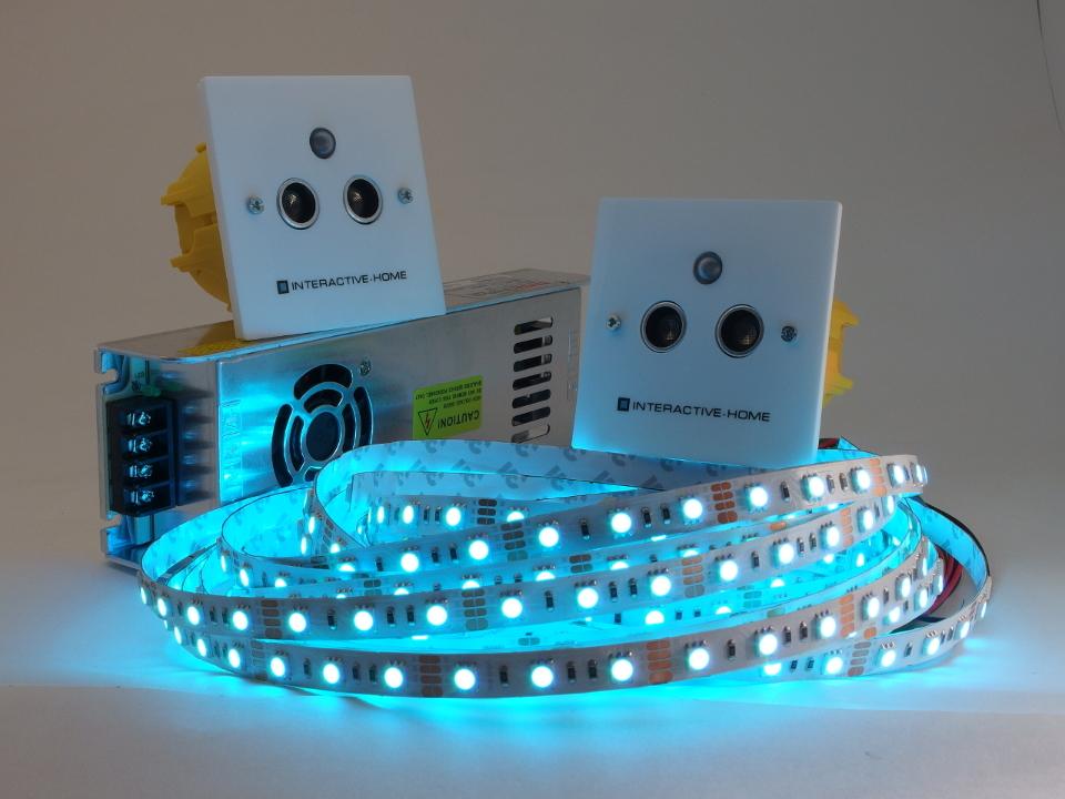 Контроллер Compact с RGB-лентами