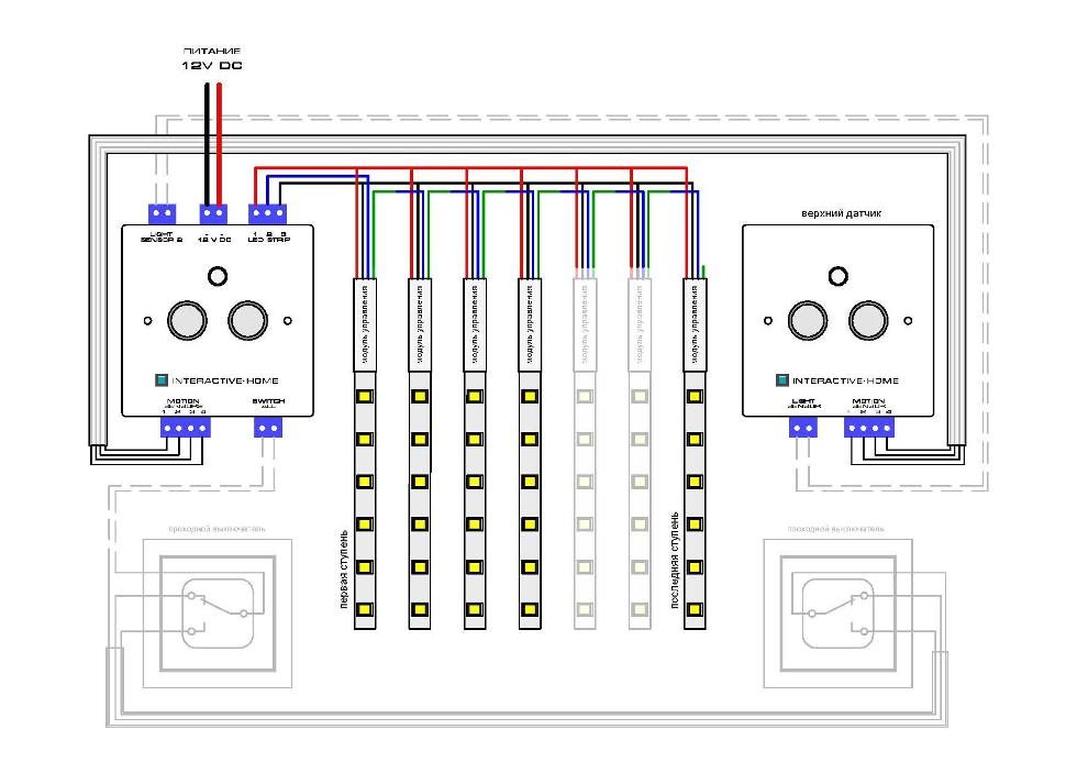 Схема подключения контроллера Compact