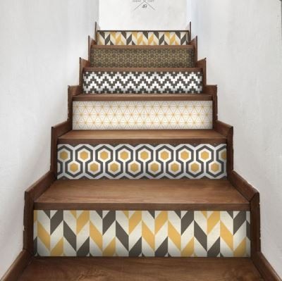 Лестница с орнаментом
