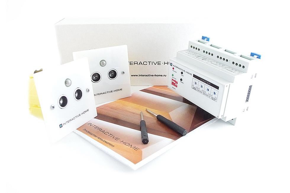 Комплект устройств автоматической подсветки лестницы